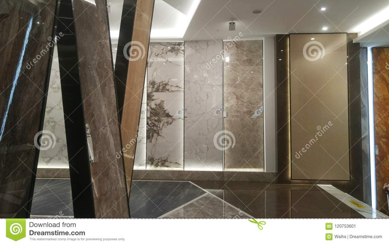 Marble Ceramic Tile Store Interior Landscape Editorial Photo Image