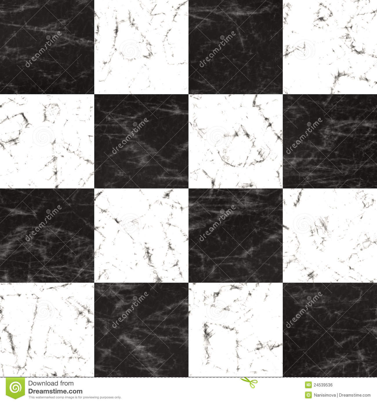 Marble Checkerboard Floor Royalty Free Stock Image Image