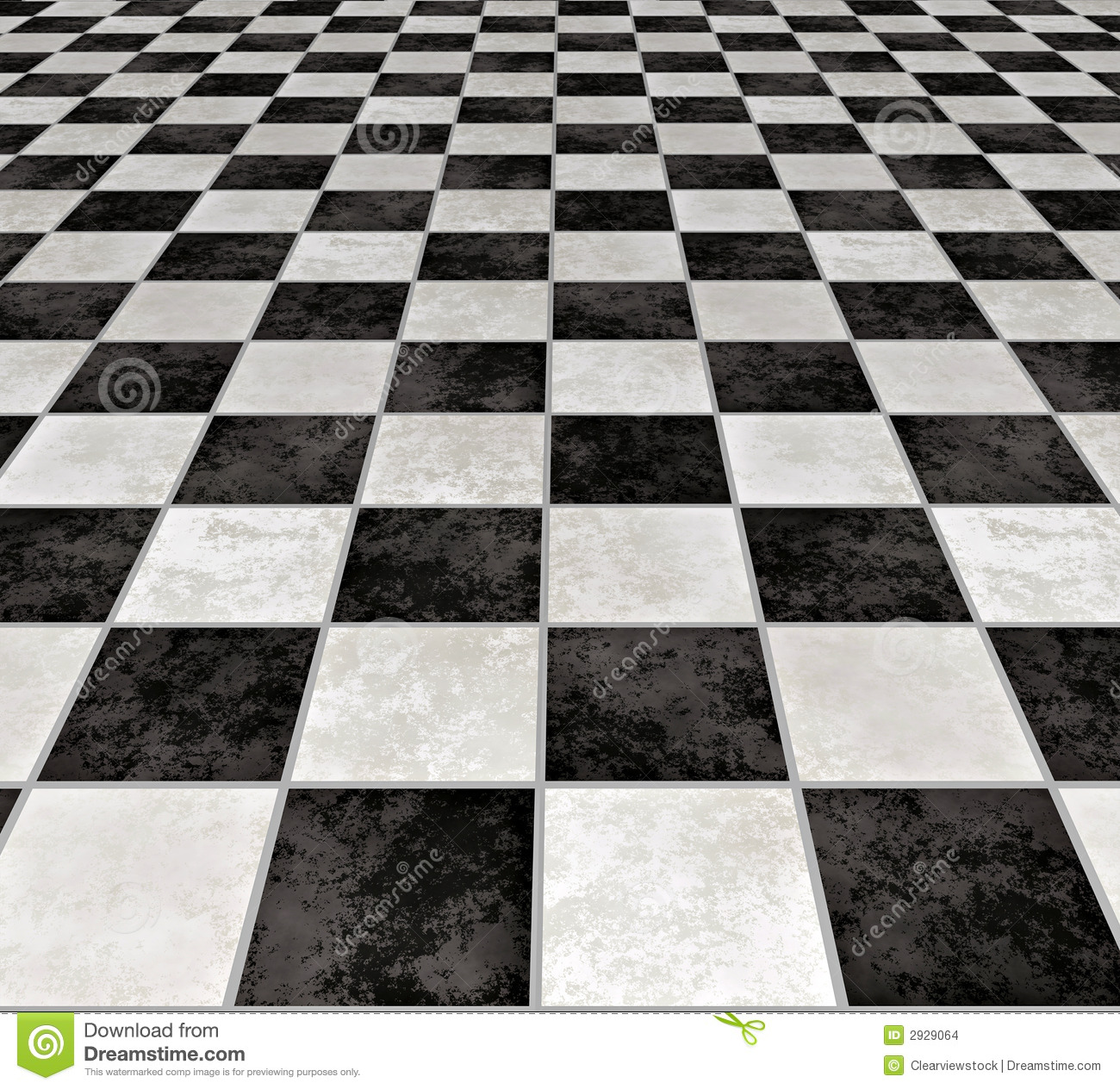 Marble Checkered Tiles Stock Images - Image: 2929064