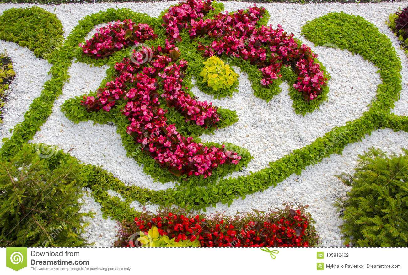 Marble chips and many annual flowers in rockeries stock photo download marble chips and many annual flowers in rockeries stock photo image of real izmirmasajfo