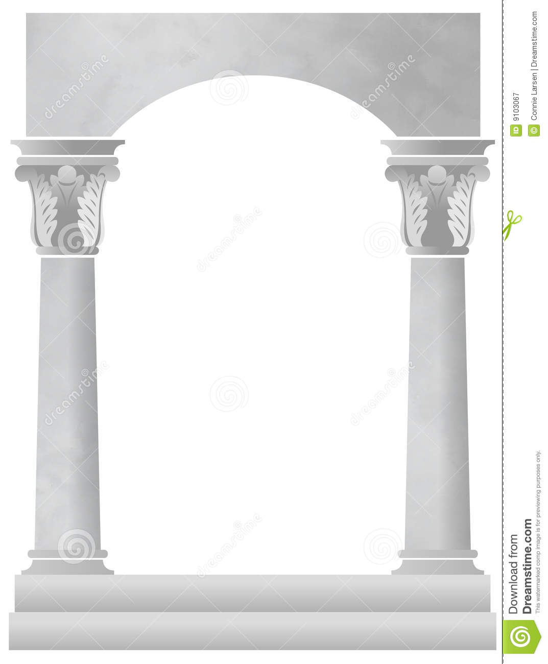 Marble Column Background Royalty Free Stock Photography ...