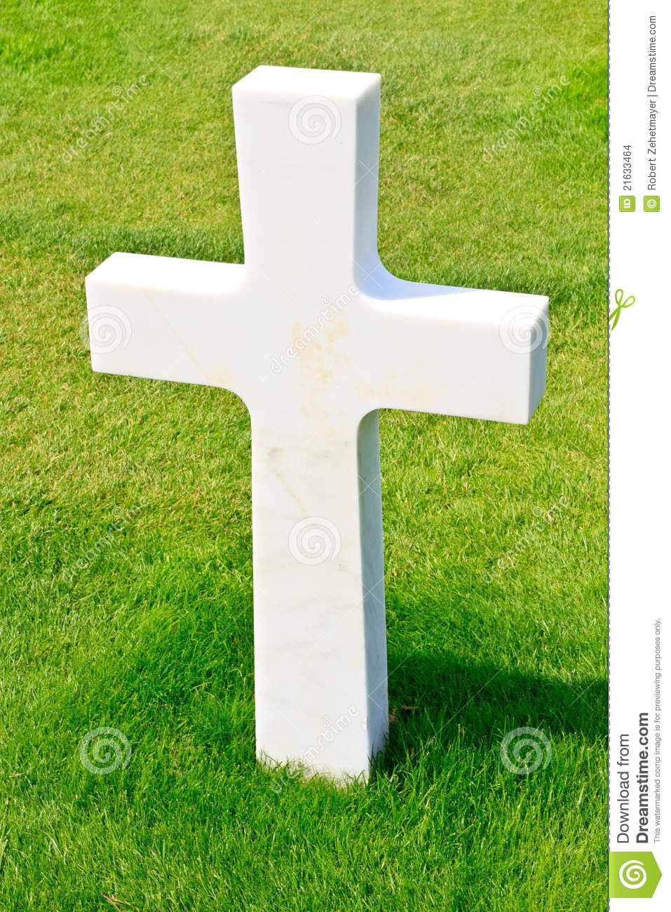 Marble Cross Of Fallen Soldier Stock Images Image 21633464