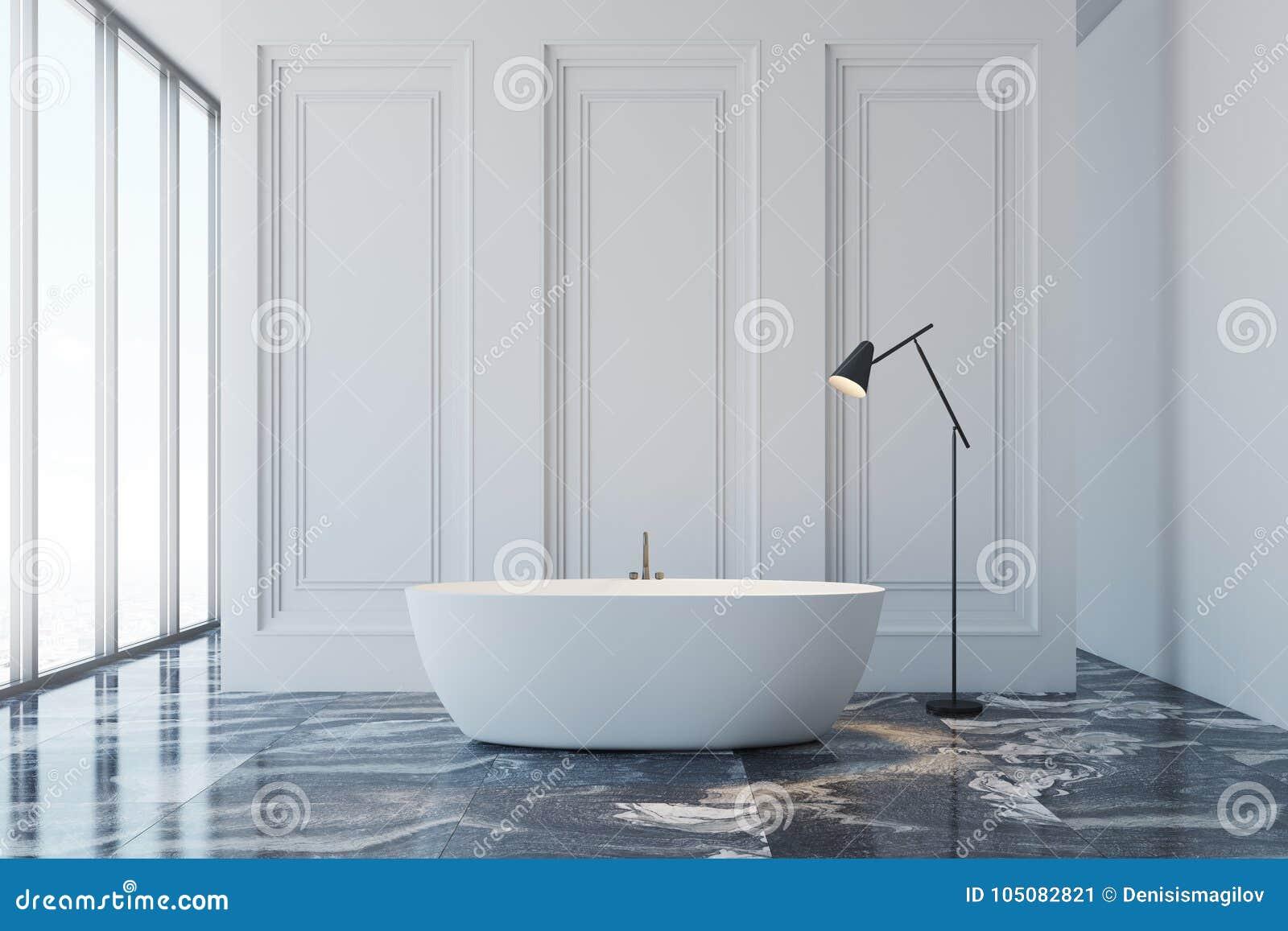 Marble floor bathroom stock illustration. Illustration of beautiful ...
