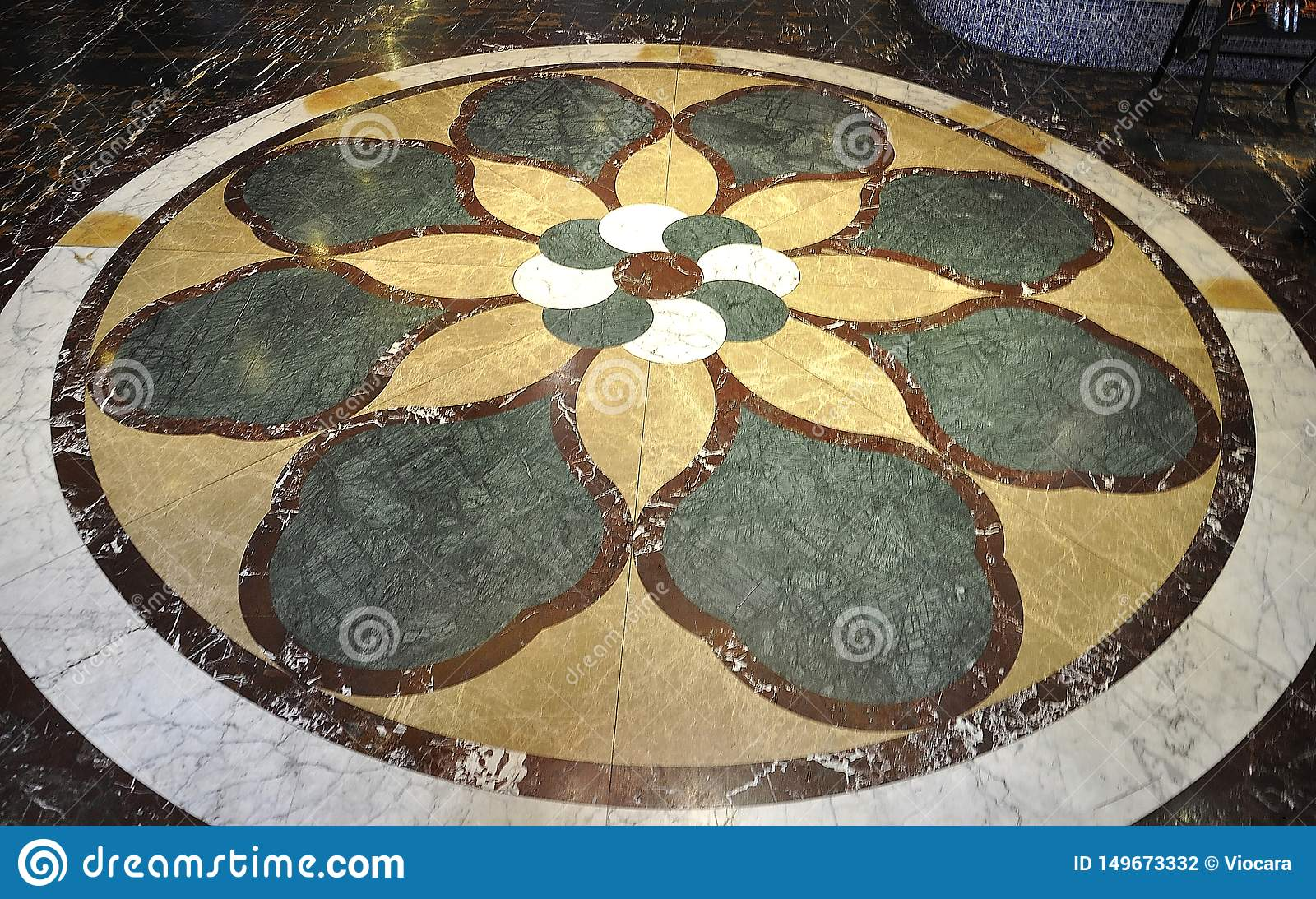 Marble Floor Design In A Chinese Hotel Lobby Editorial Photography Image Of Colorful Decoration 149673332