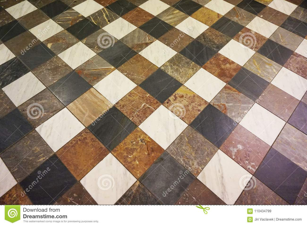 Download Marble Floor Square Texture Stock Image