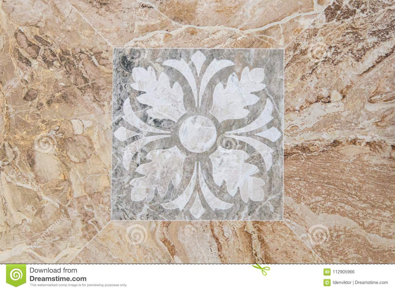 Marble Floor Texture With Pattern Stock Photo Image Of Design Background 112905966