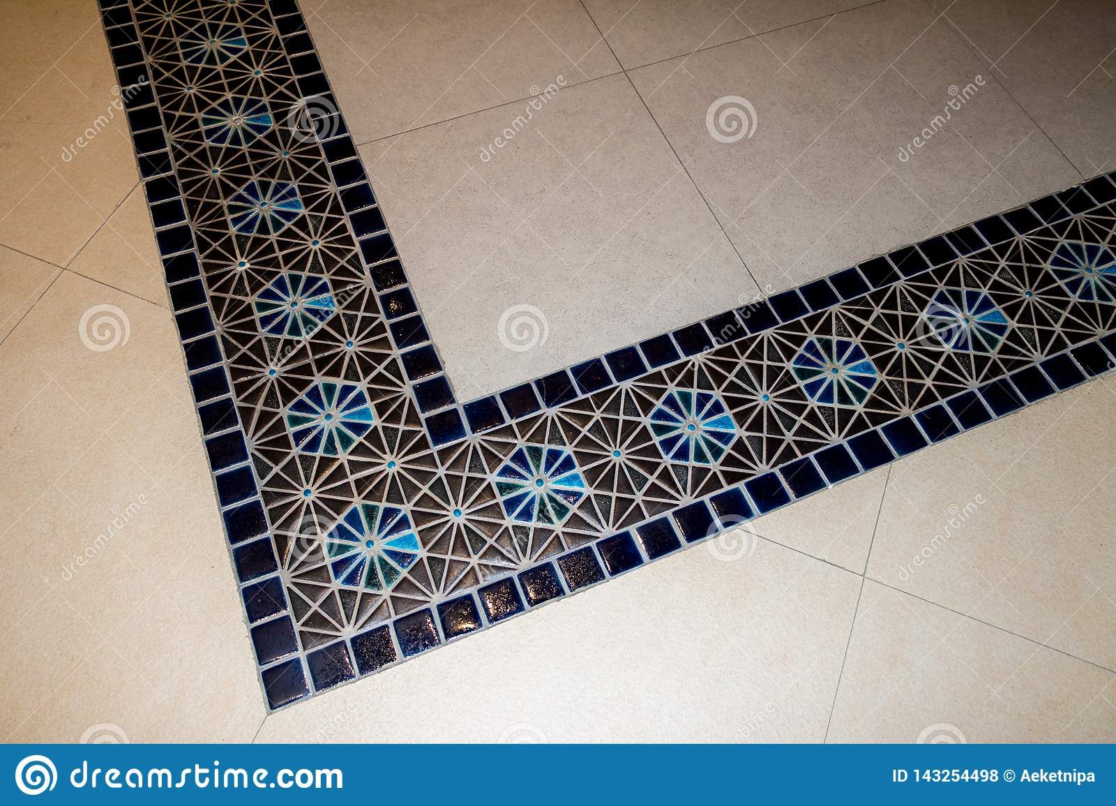 Marble Floor Tile Pattern For Background Stock Photo Image Of