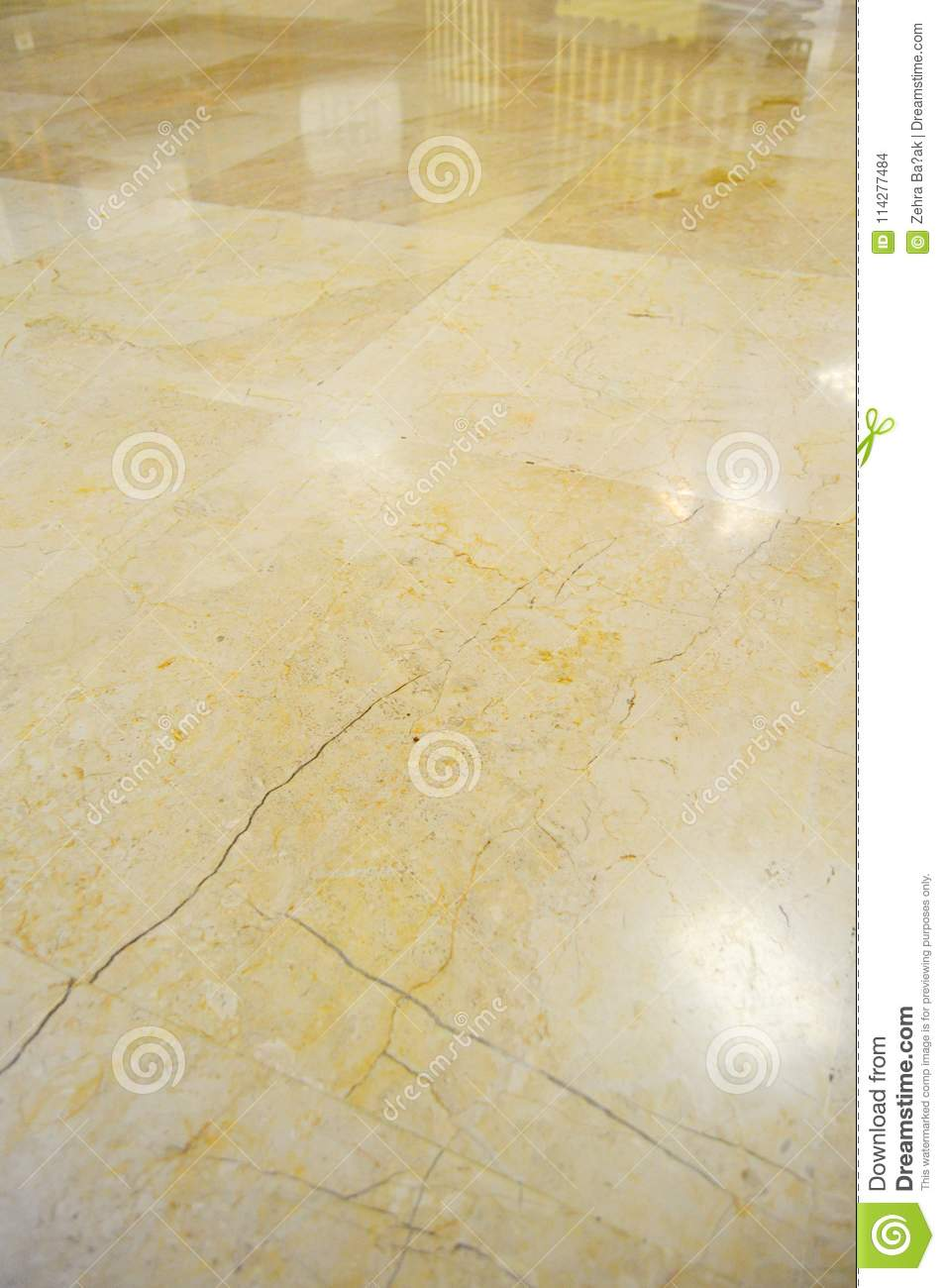 Marble Floor Tiles Cracked Lights Stock Photo Image Of Indoor