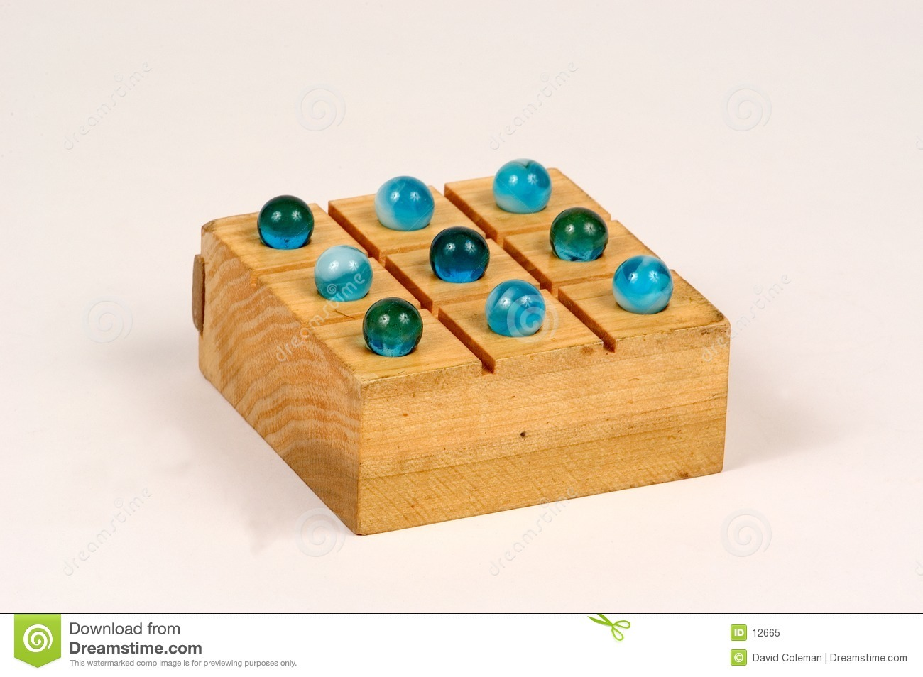 Old Fashioned Marble Games
