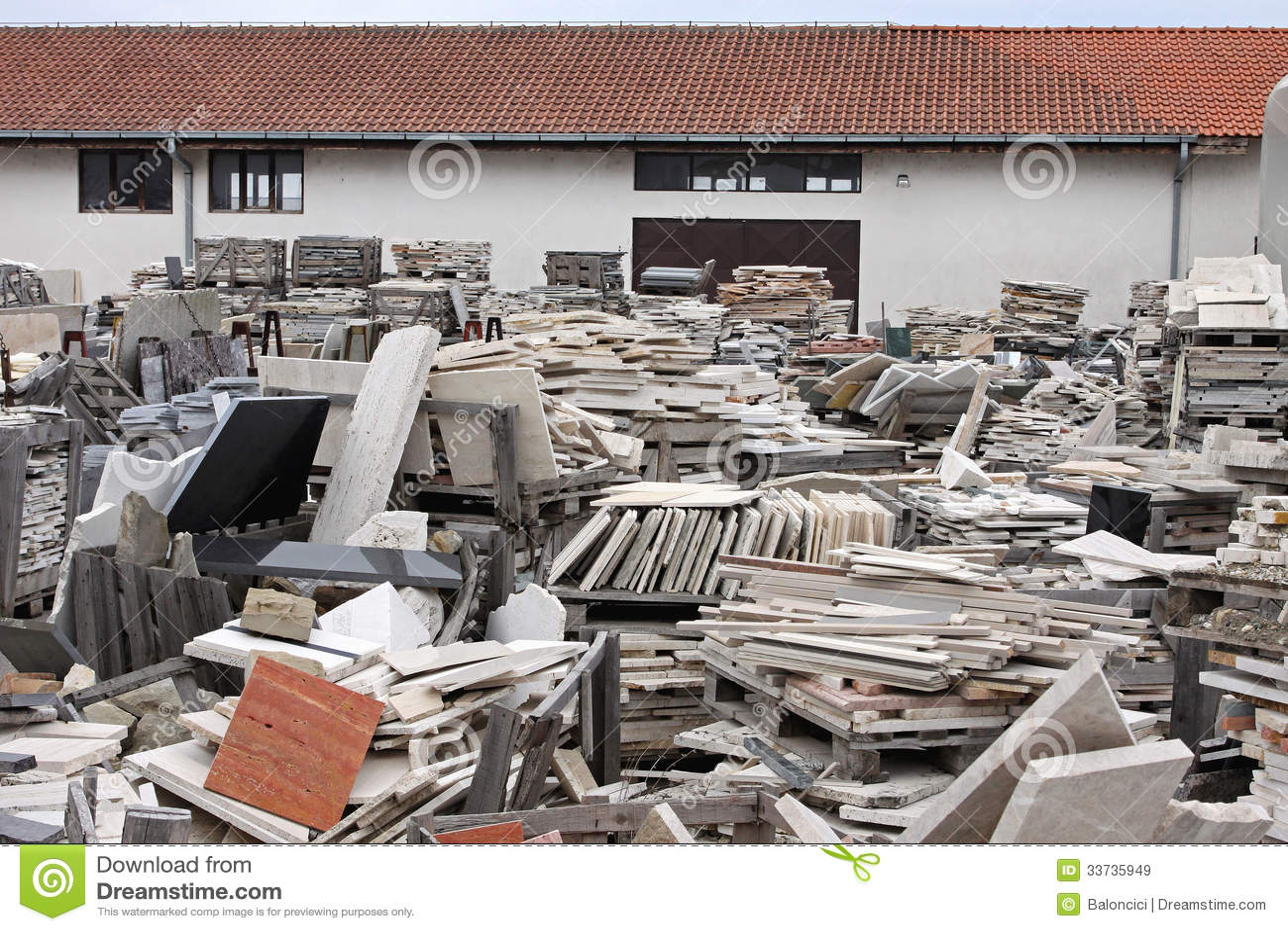 Marble Scrap Yard