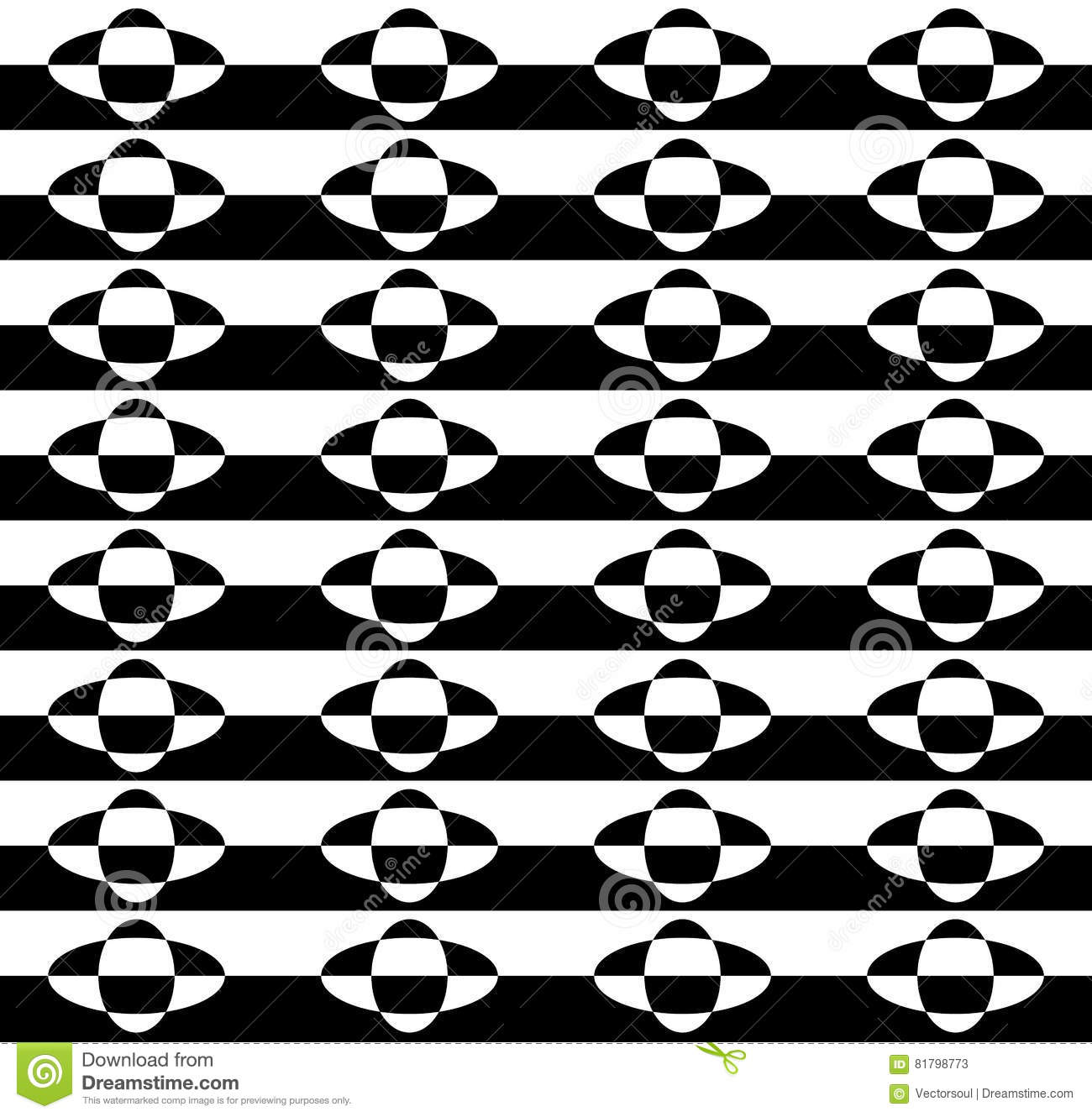 Marble like repetitive, geometric pattern. See more versions in