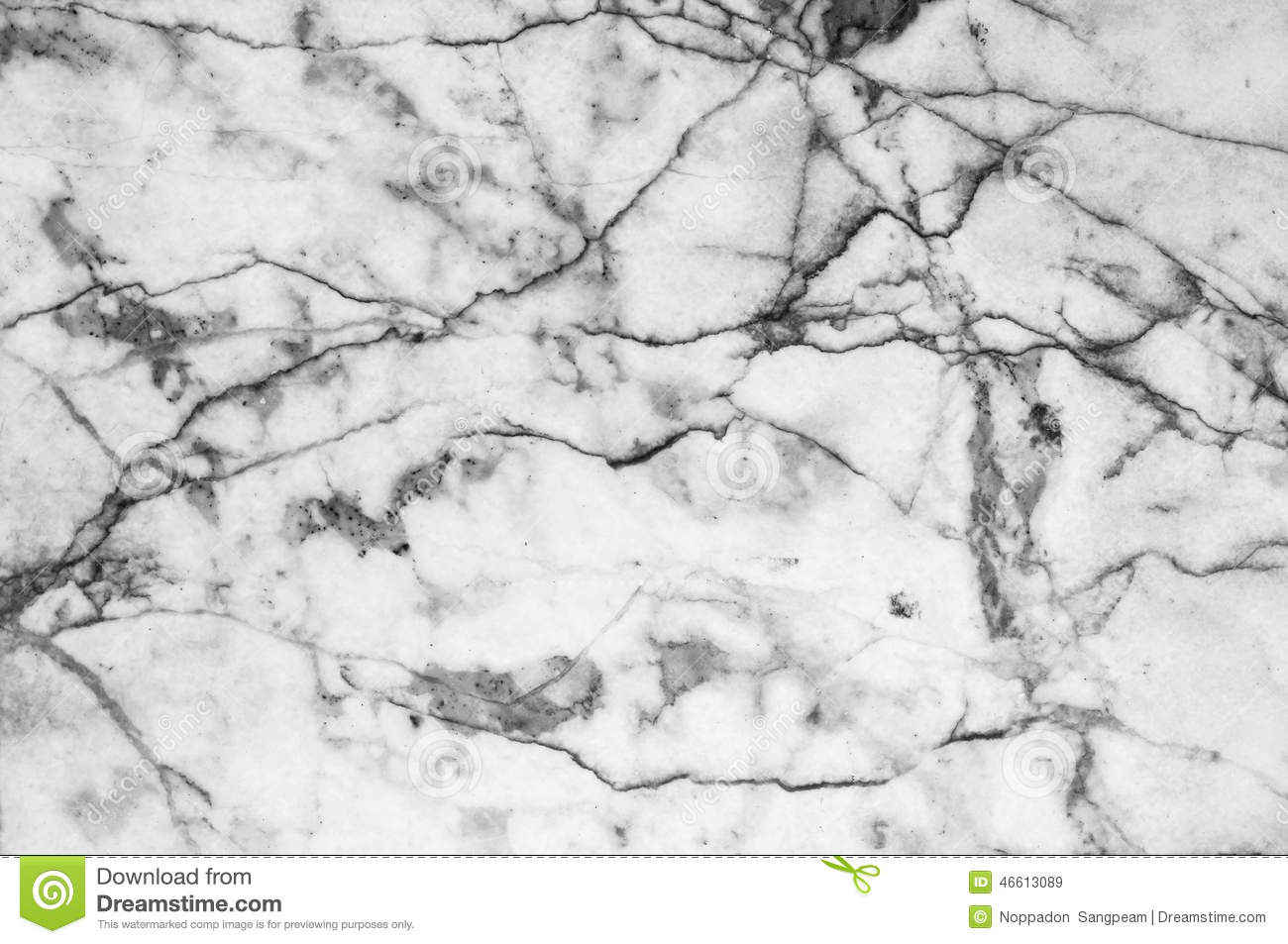 Marble Patterned Texture Background Black And White Stock Image