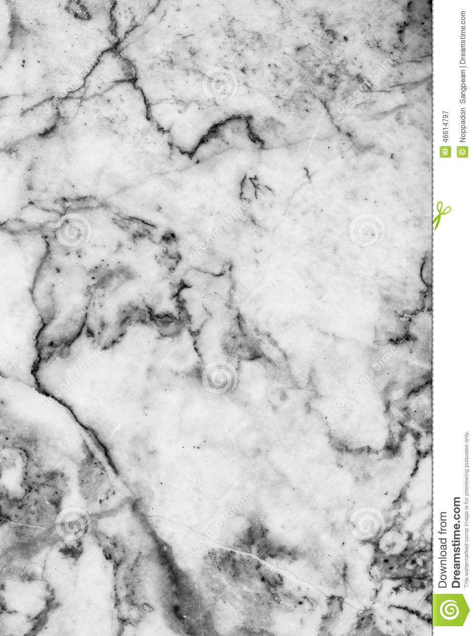 Royalty-Free Stock Photo. Download Marble Patterned Texture Background ,Black  And White.