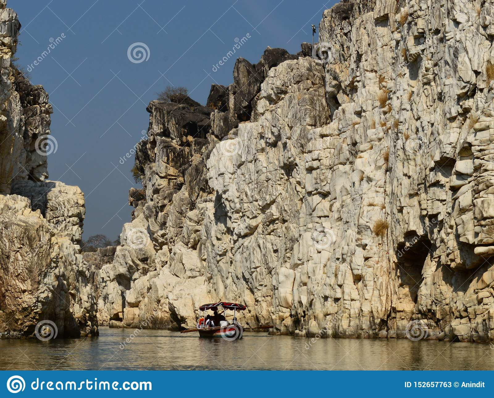 Marble Rock Formation Stock Image Image Of White
