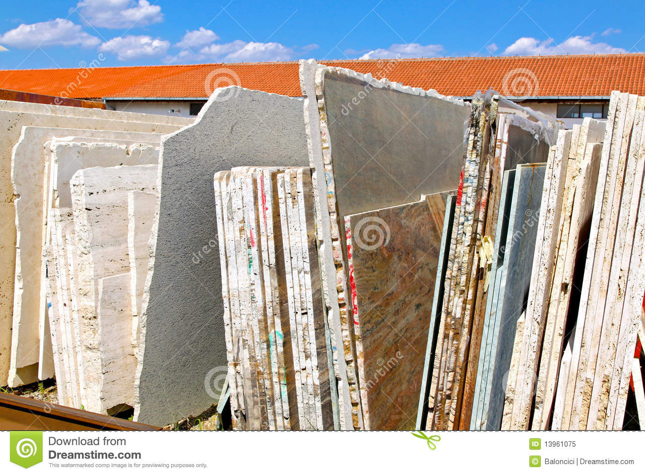 Marble Sheets Stock Image Image Of Industry Warehouse