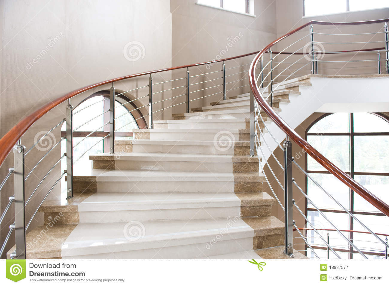 Marble Stairs Stock Image Image Of Composition Luxury