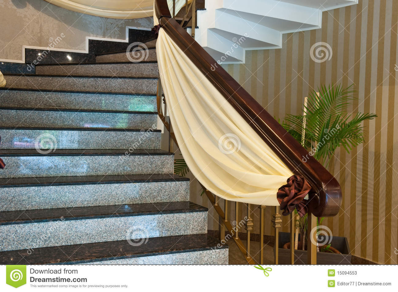Marble Stairs Decoration Stock Photos Image 15094553