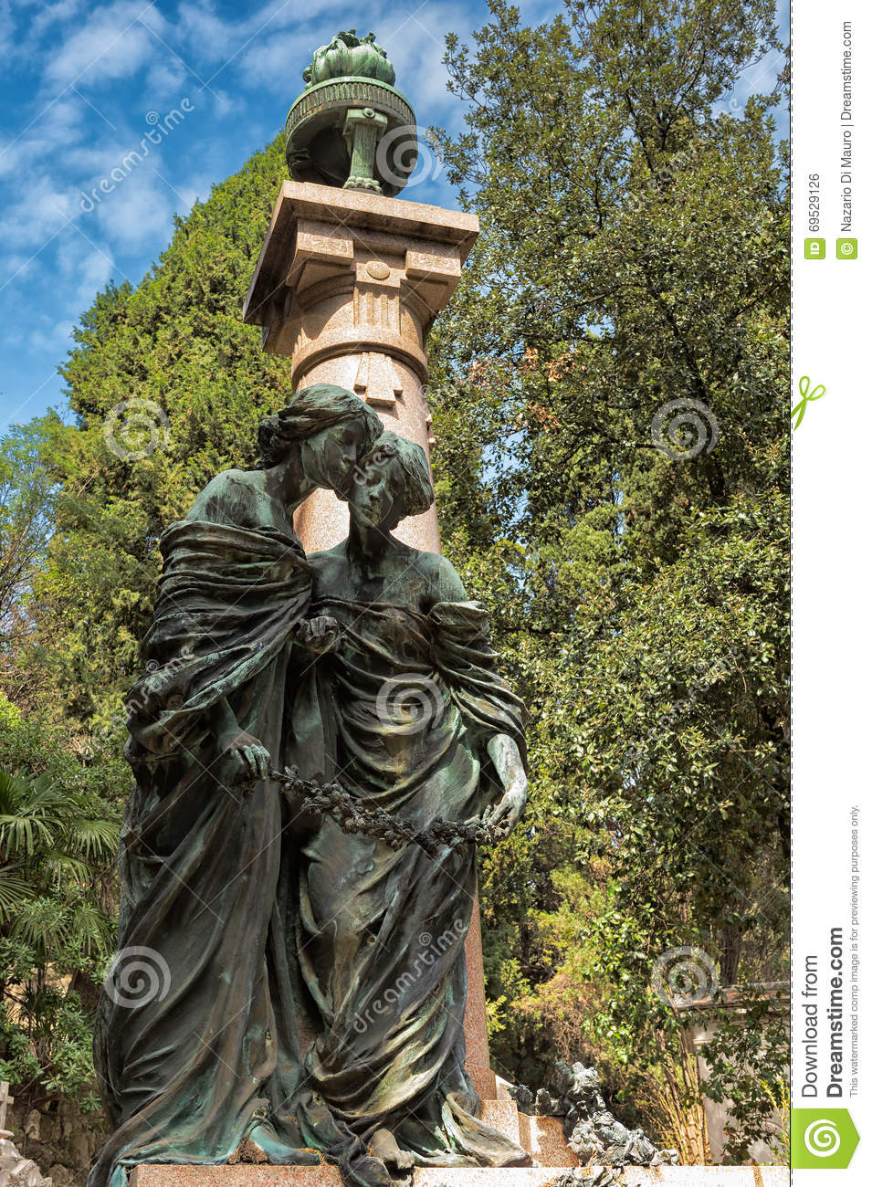Old Tombstone stock image. Image of graveyard, monument