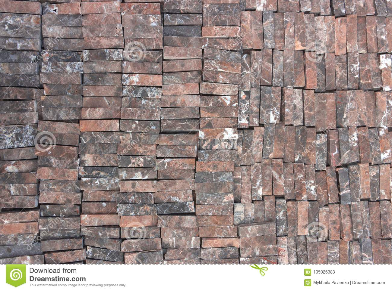 Brick tiles - a popular building material for facade cladding 75