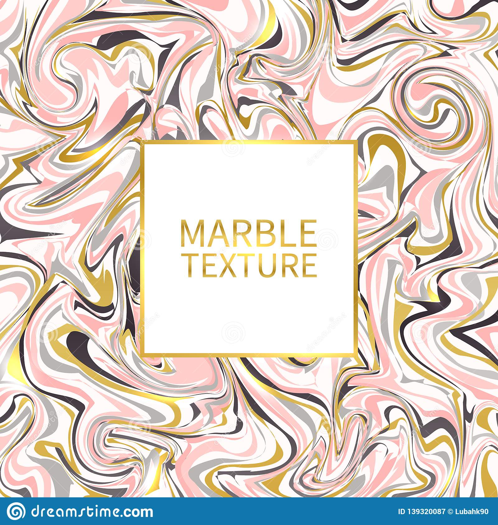Marble Texture Gold Pink Black And White Marble Template Trendy Design For Wedding Invitation Poster Brochure Stock Vector Illustration Of Gold Golden 139320087
