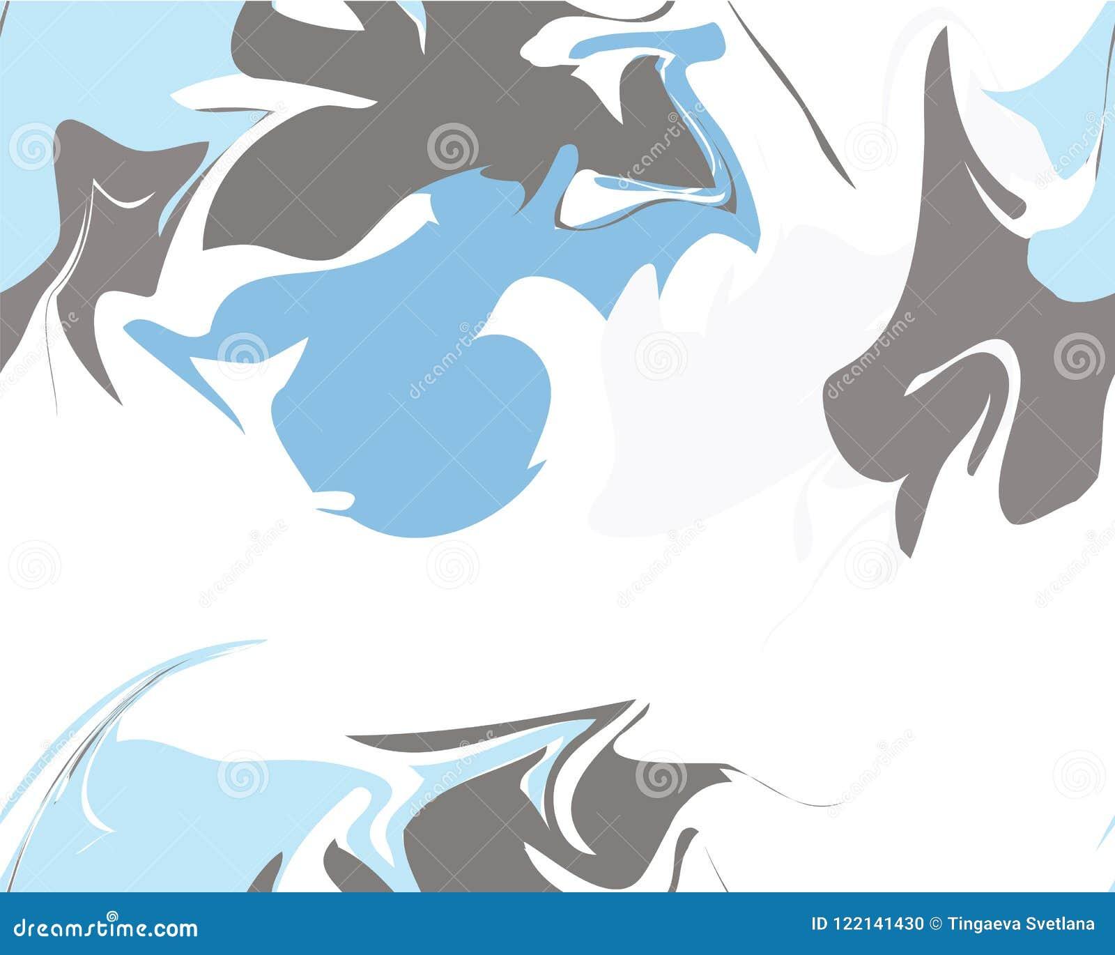 Marble Texture Seamless Pattern Stock Vector - Illustration of ...