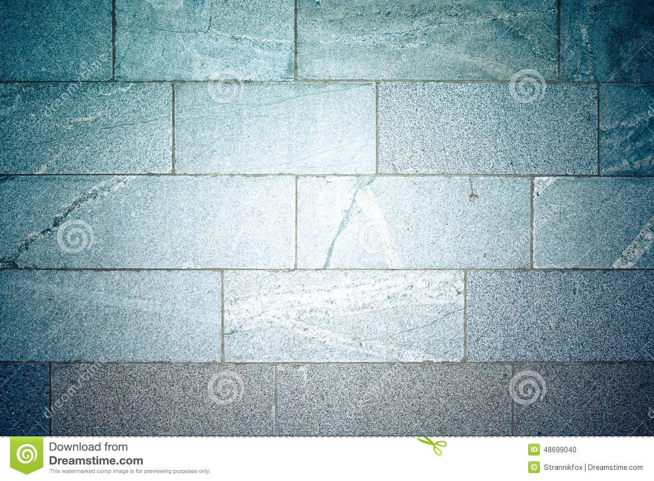 Marble Tile On The Wall. Background. Tinted Stock Photo - Image of ...