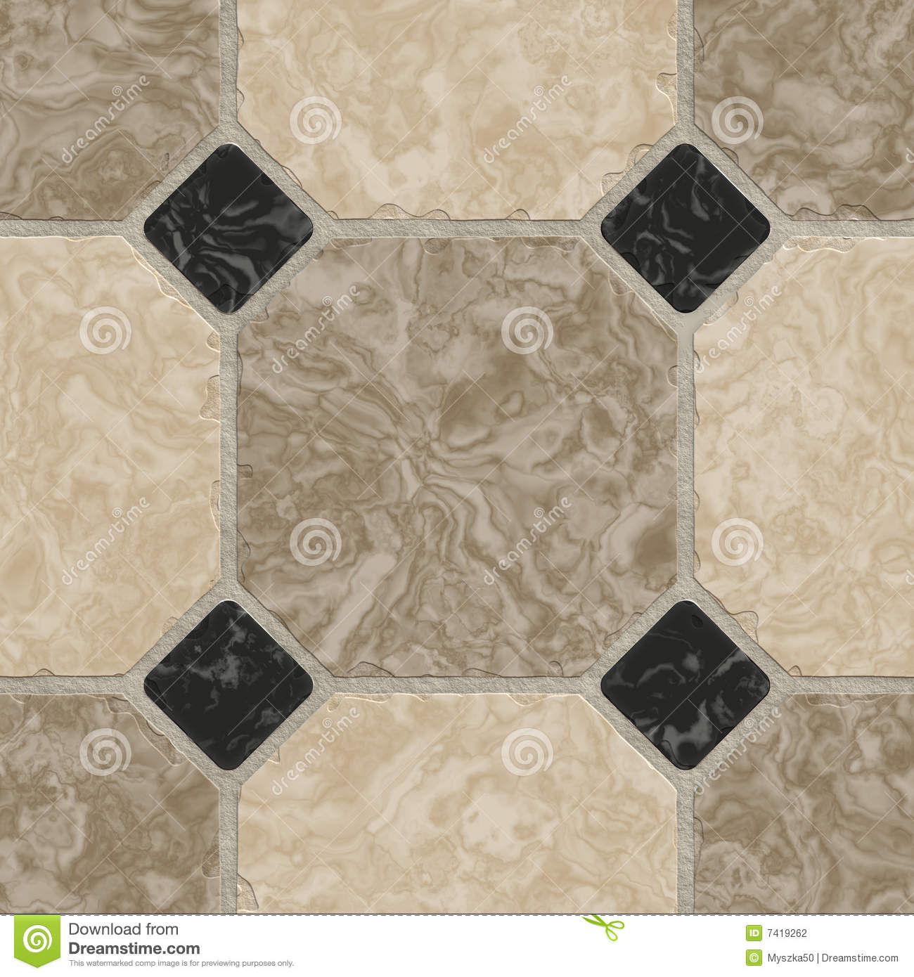 Marble Tiles Background Stock Photography Image 7419262