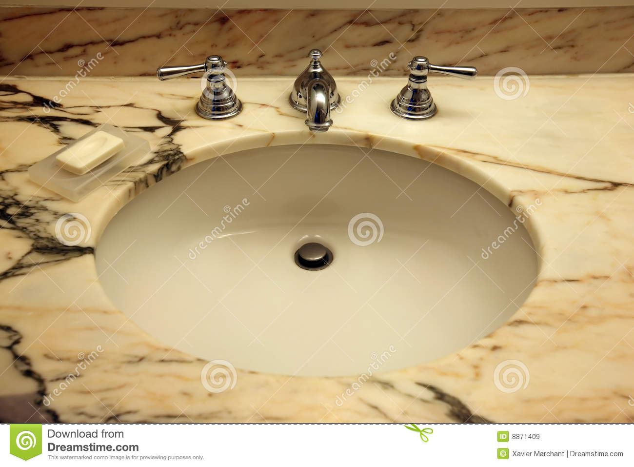 Marble top sink  Marble Top Sink Royalty Free Stock Images Image 8871409. Bathroom Sink With Marble Top