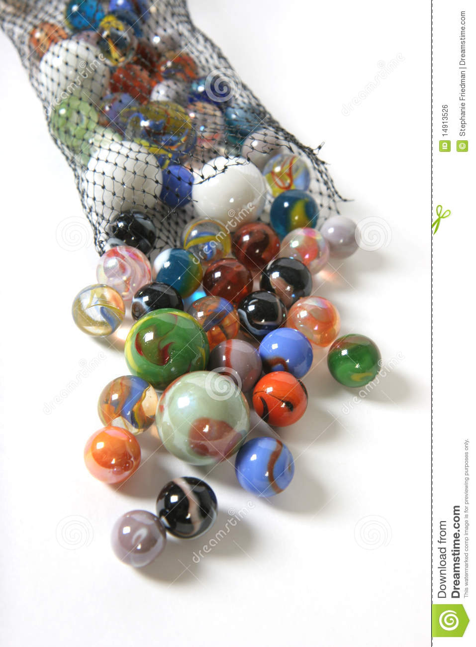 Cartoon Colored Marbles : Set of toys various colors stock photography
