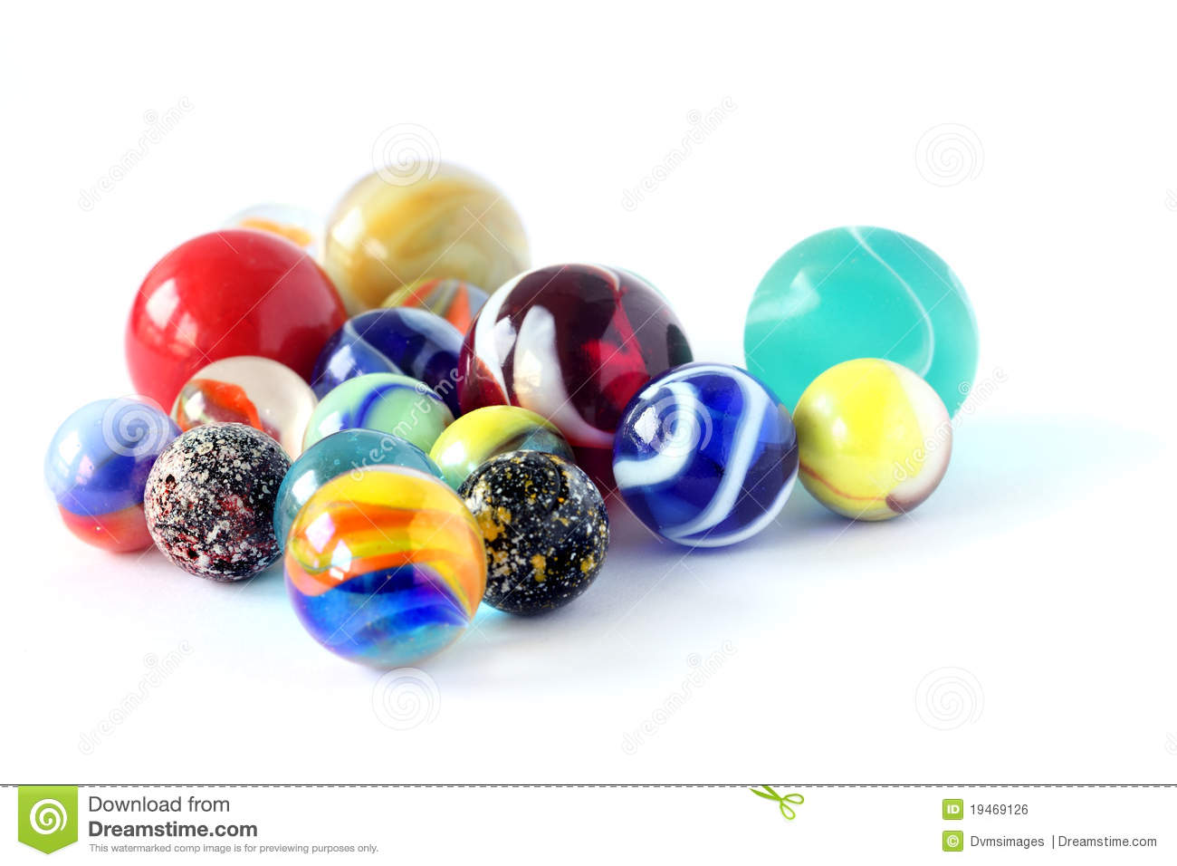 Marbles Stock Photo Image Of Colorful Collection