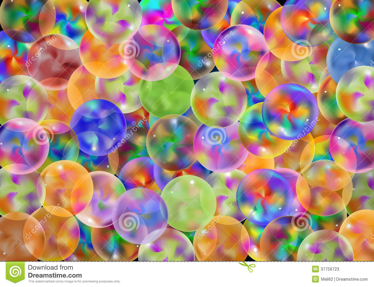 background colorful marbles ...
