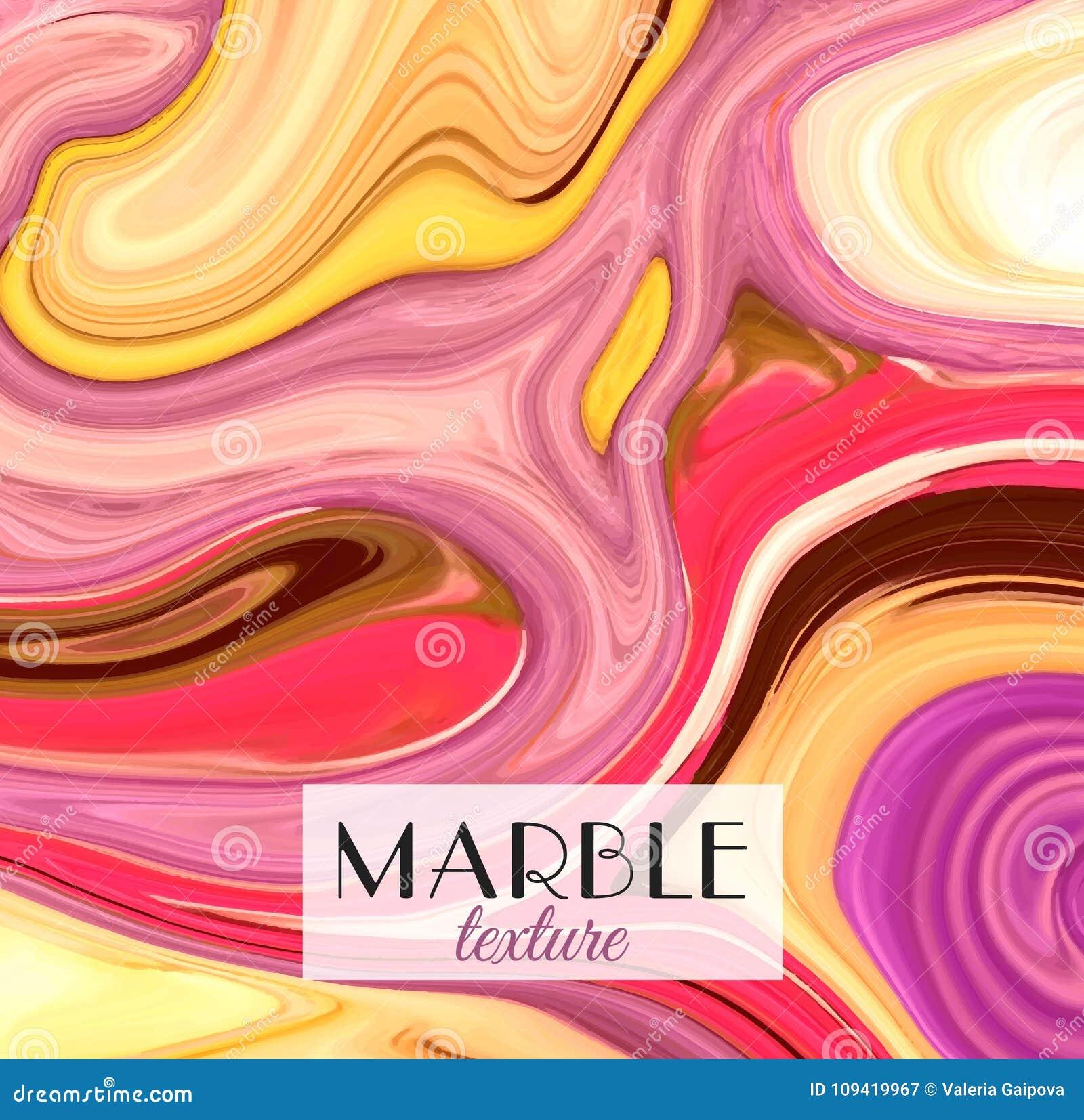 Marbling Struttura di marmo Fondo variopinto astratto artistico Spruzzata di vernice Liquido variopinto Colori luminosi