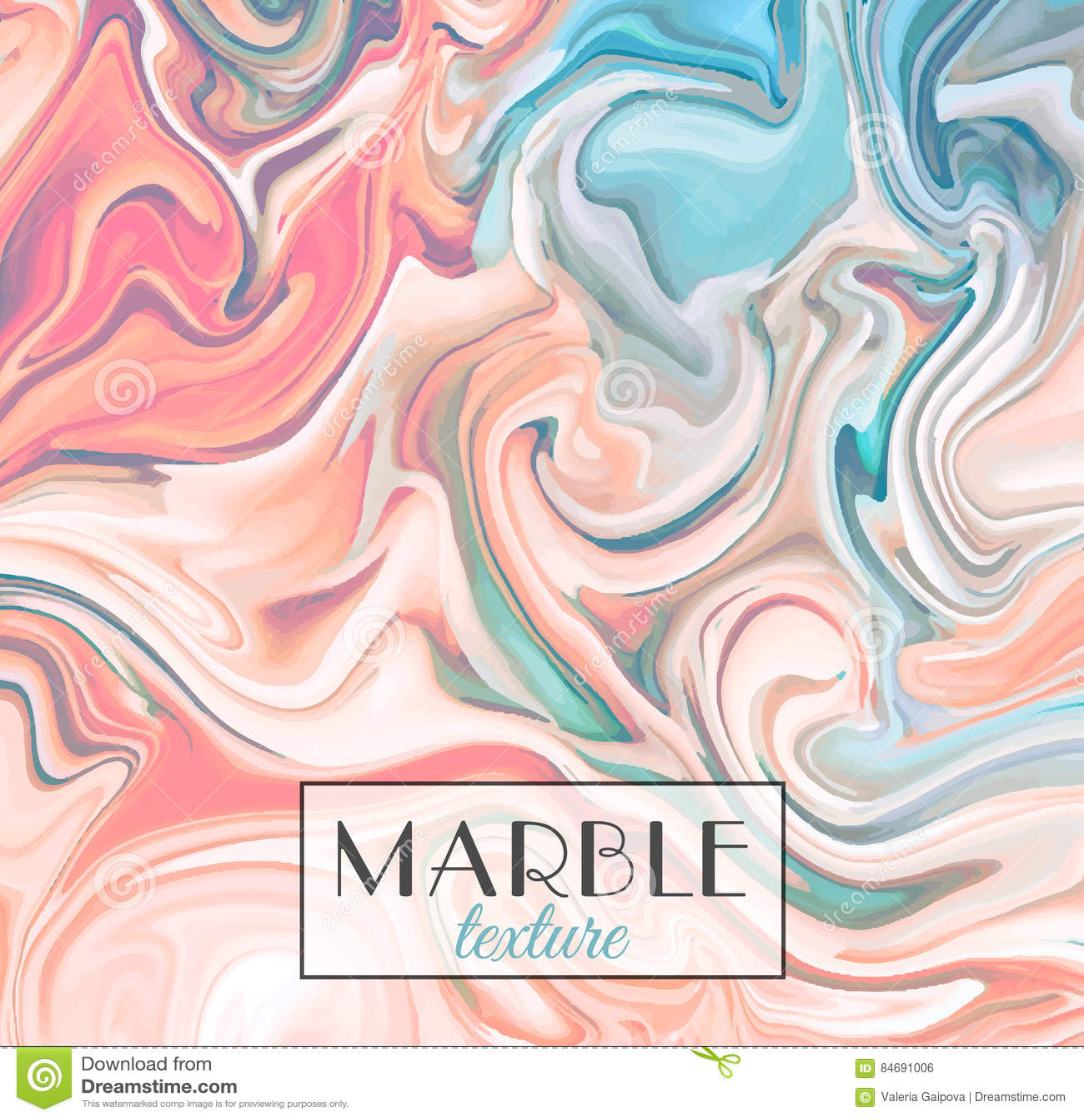 Marbling Struttura di marmo Priorità bassa variopinta astratta di vettore Vernici la spruzzata