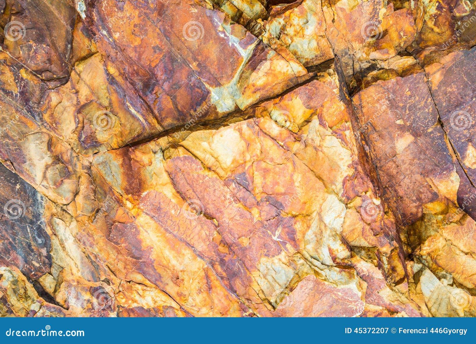Marbre-roche rouge