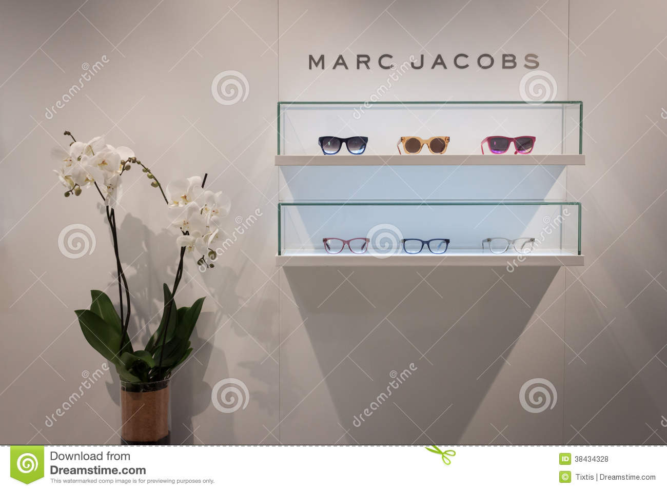 Marc Jacobs Glasses On Display At Mido 2014 In Milan ...