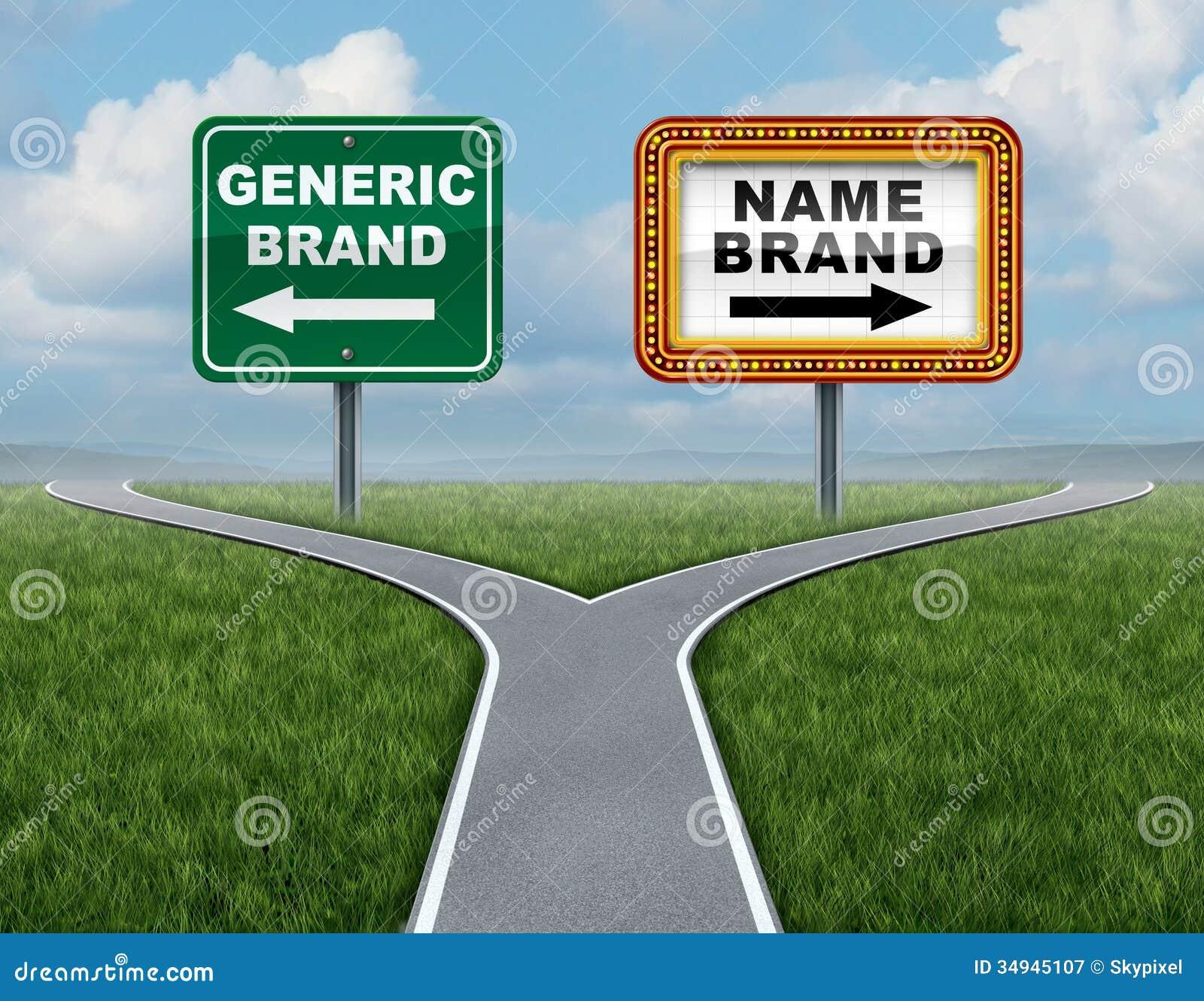 Marca generica contro la marca commerciale
