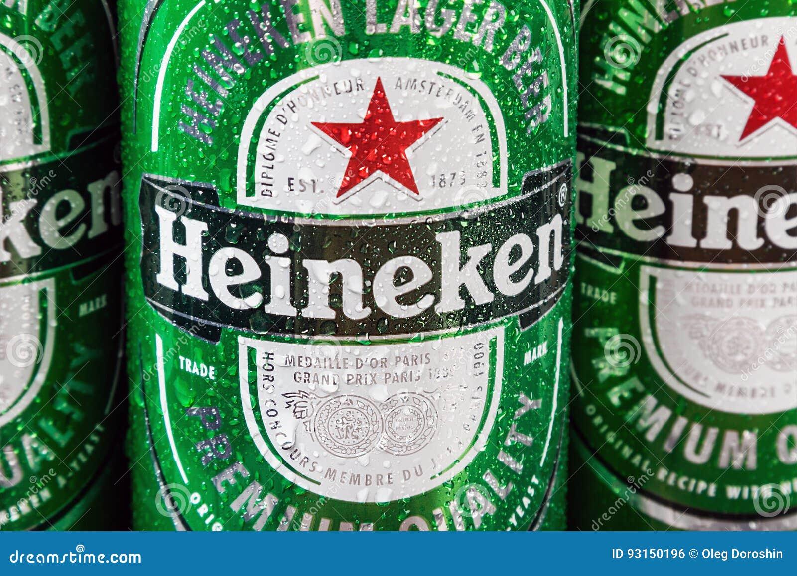 Marca globale della birra di Heineken
