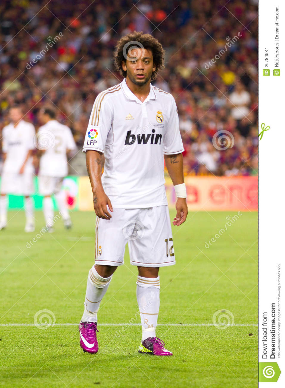 Marcelo of Real Madrid editorial photography Image of supercup