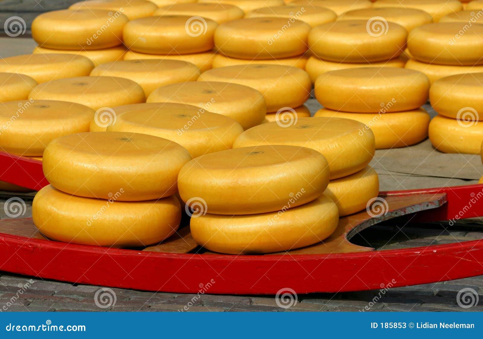 Marché de fromage