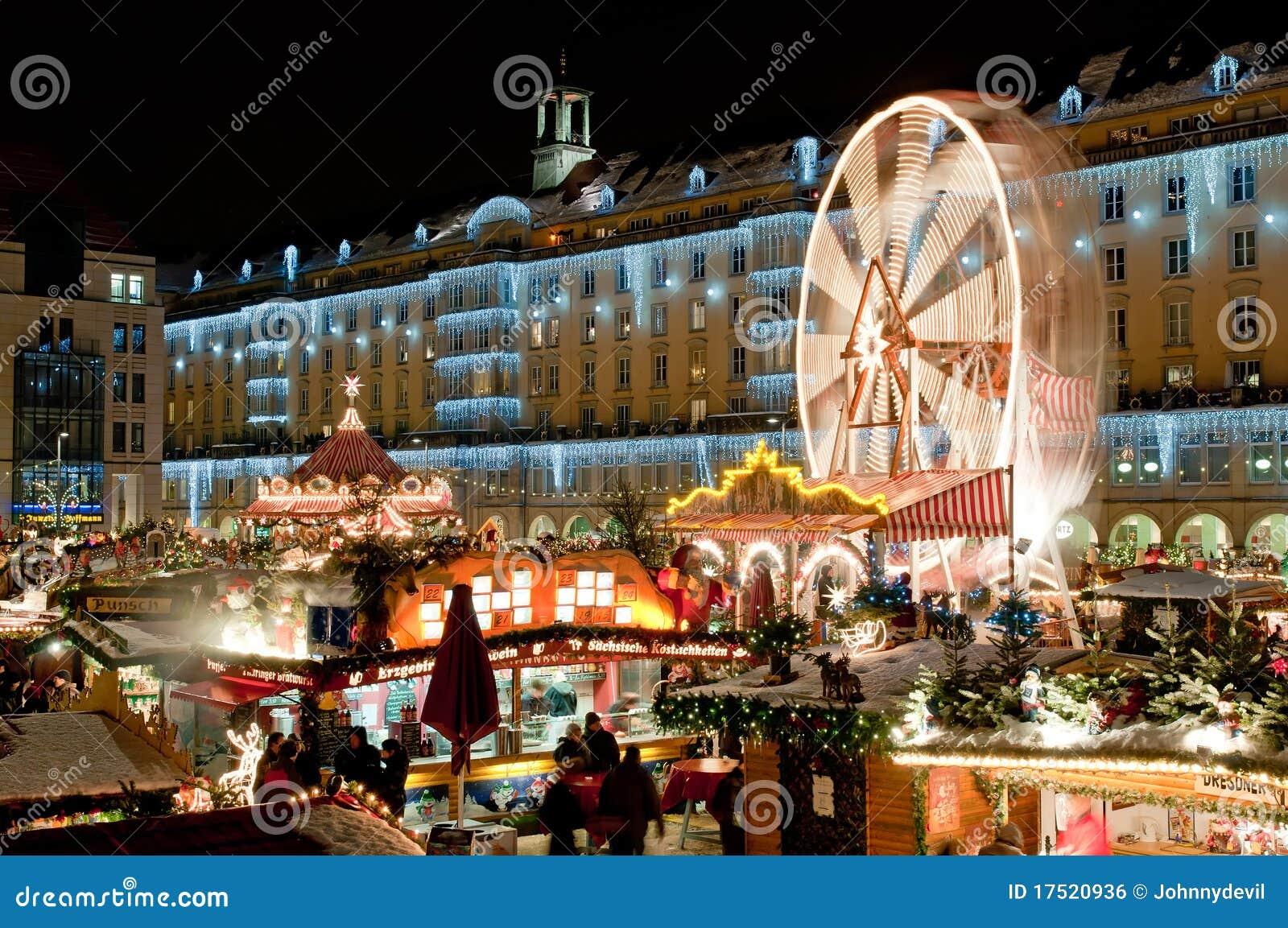 Marché de Noël à Dresde
