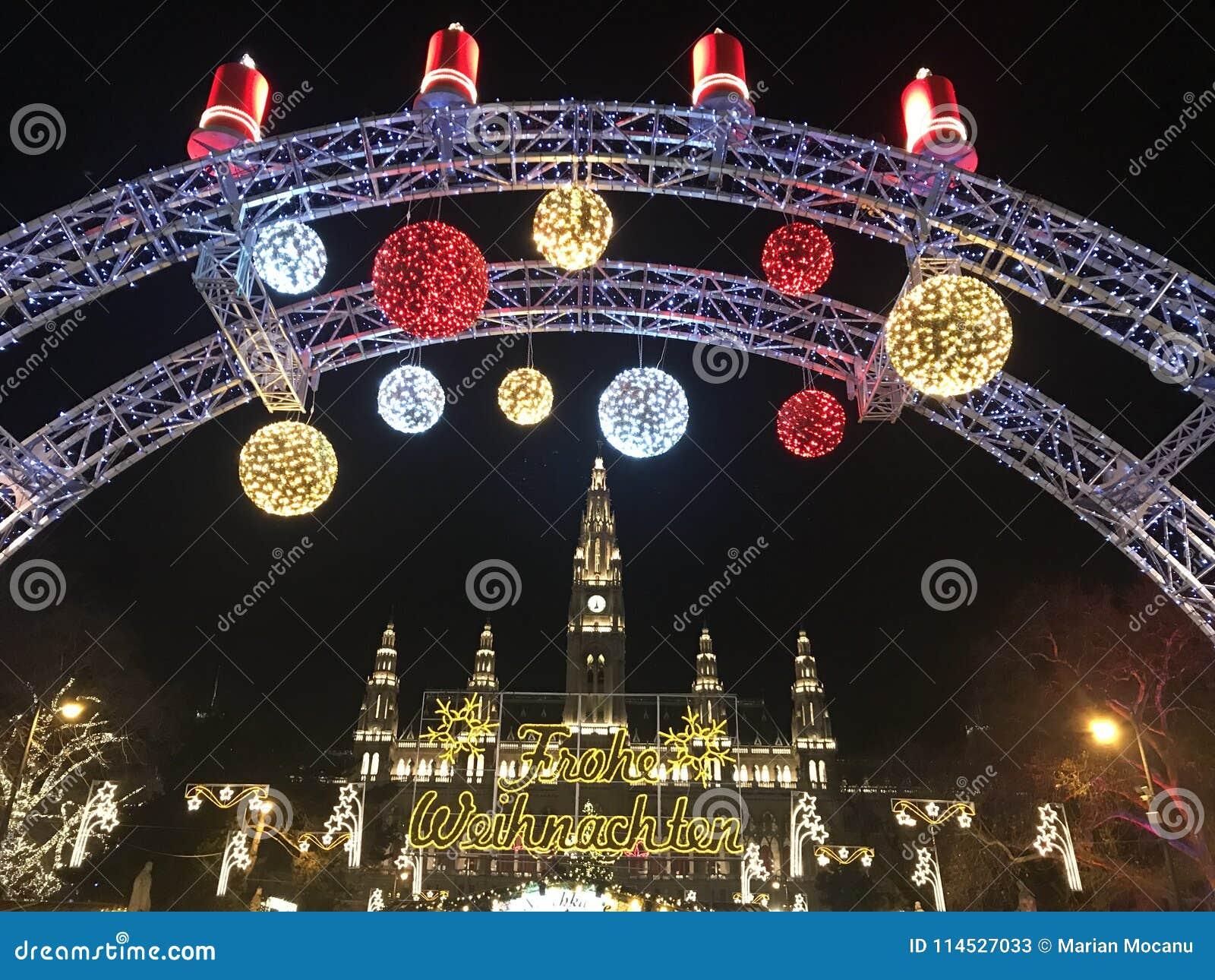 Marché de Noël à Vienne, Autriche