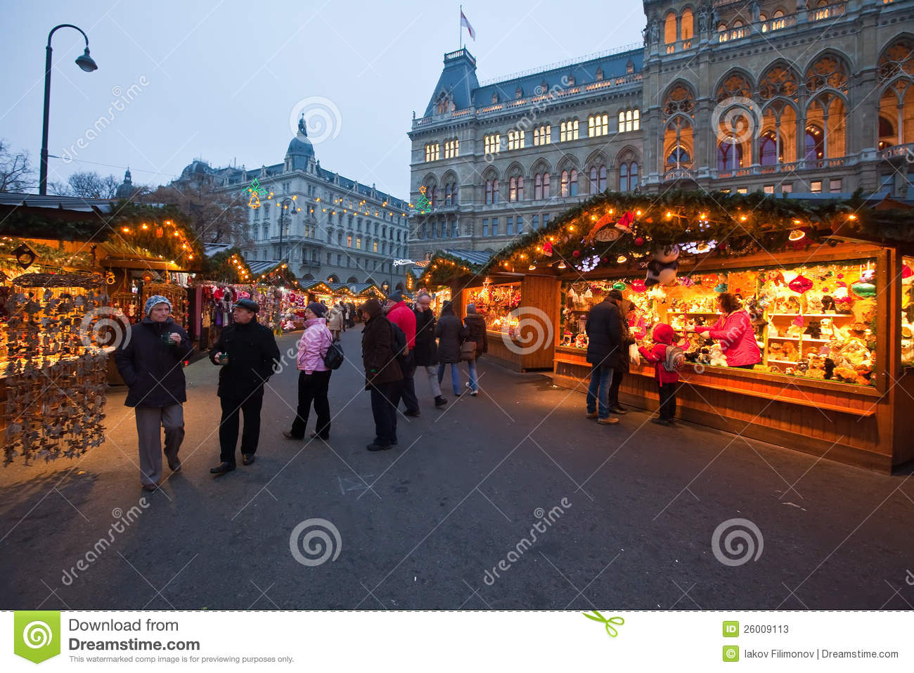 March de no l vienne autriche photo stock ditorial image 26009113 - Vienne marche de noel ...