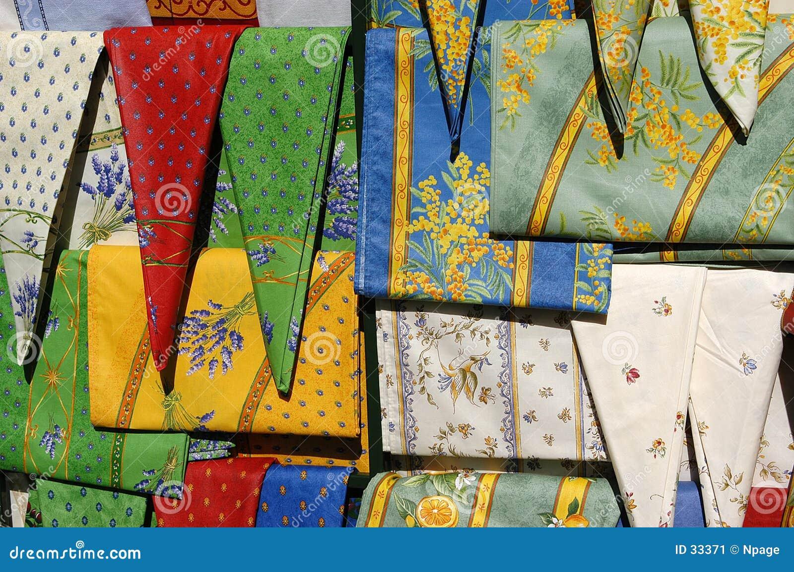 Marché de tissu