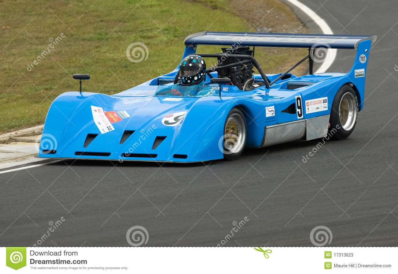 march can am racing car at speed editorial stock photo image 17313623. Black Bedroom Furniture Sets. Home Design Ideas