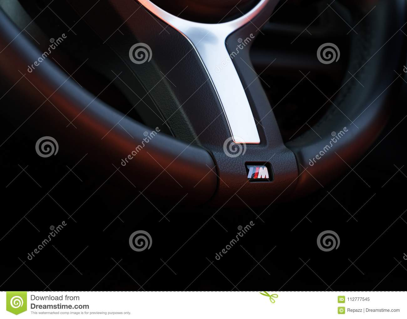 Bmw Performance Car Steering Wheel Editorial Image Image Of Auto