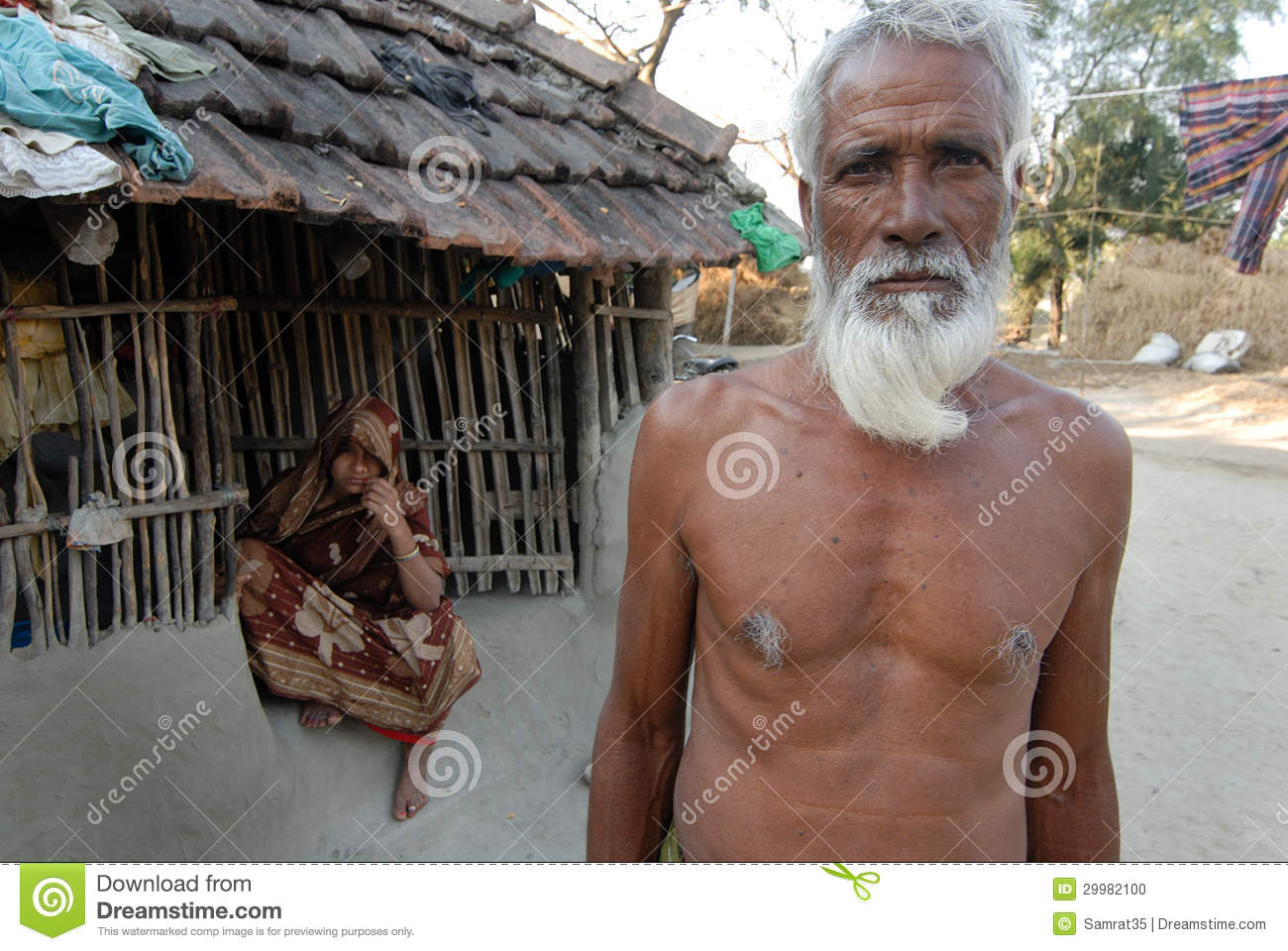 Medinipur India  city photos gallery : March 03,2013 Medinipur,West Bengal,India,Asia An old poor farmer in ...