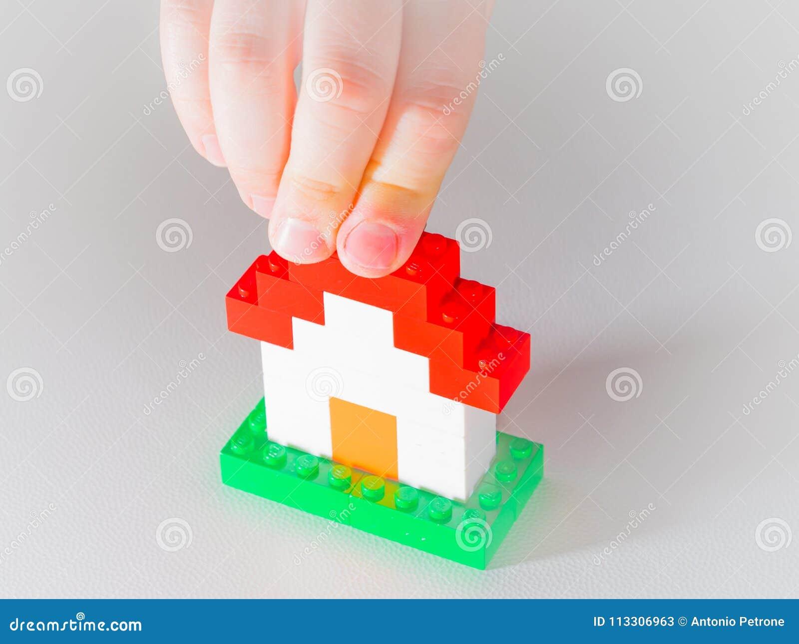 Lego house editorial stock photo  Image of italy, estate - 113306963