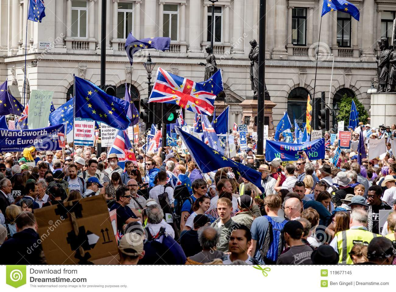 The march for a People`s Vote