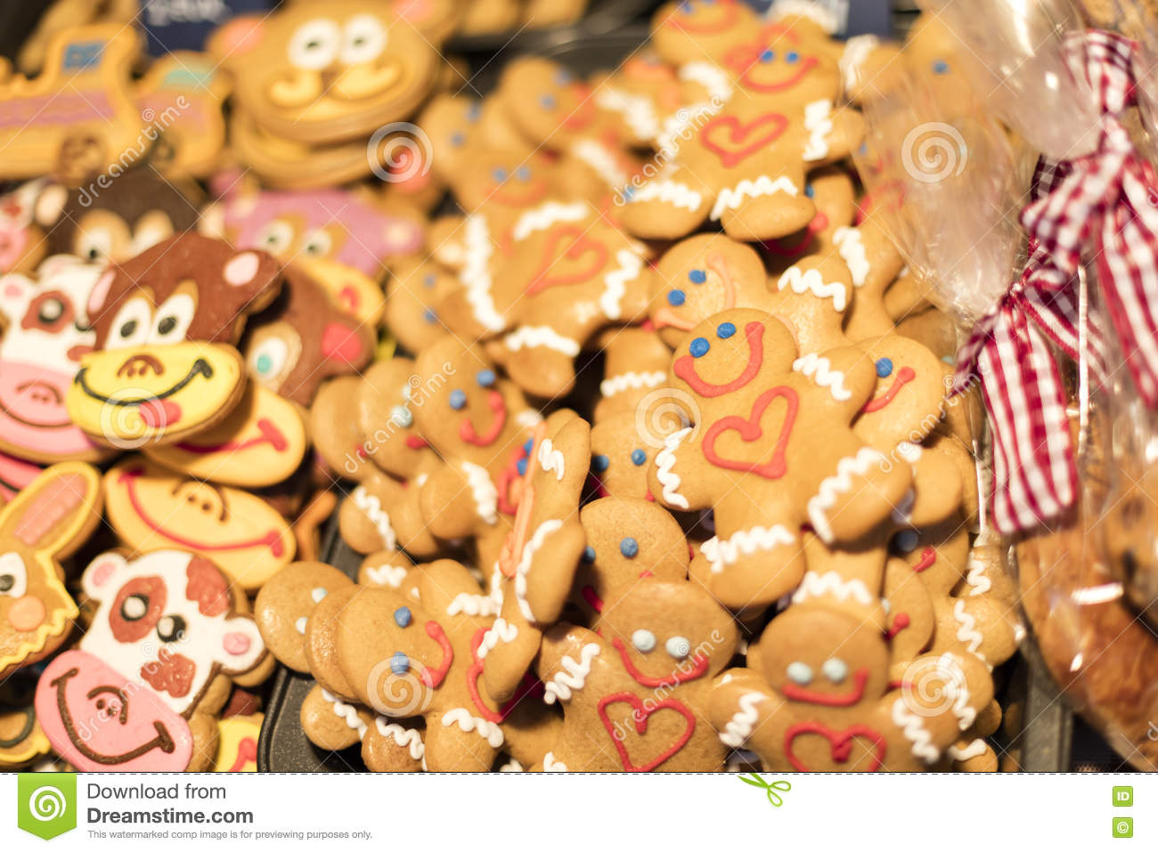 March  traditional gingerbread baked goods at