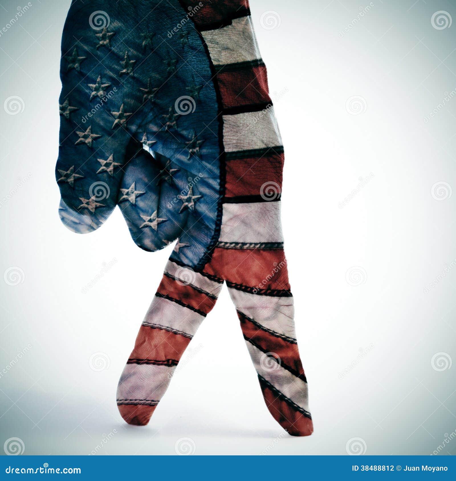 Marche de drapeau américain